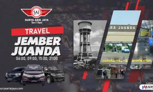 Travel Jember Juanda SAJ