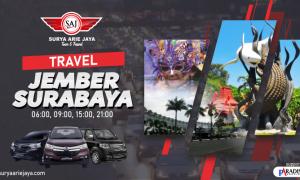 travel jember surabaya SAJ