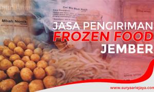 Jasa Pengiriman Frozen Food Jember